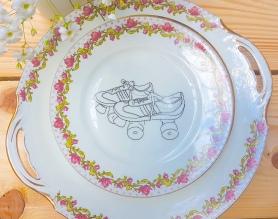 La vaisselle vintage repimpée par @vaissellepommette